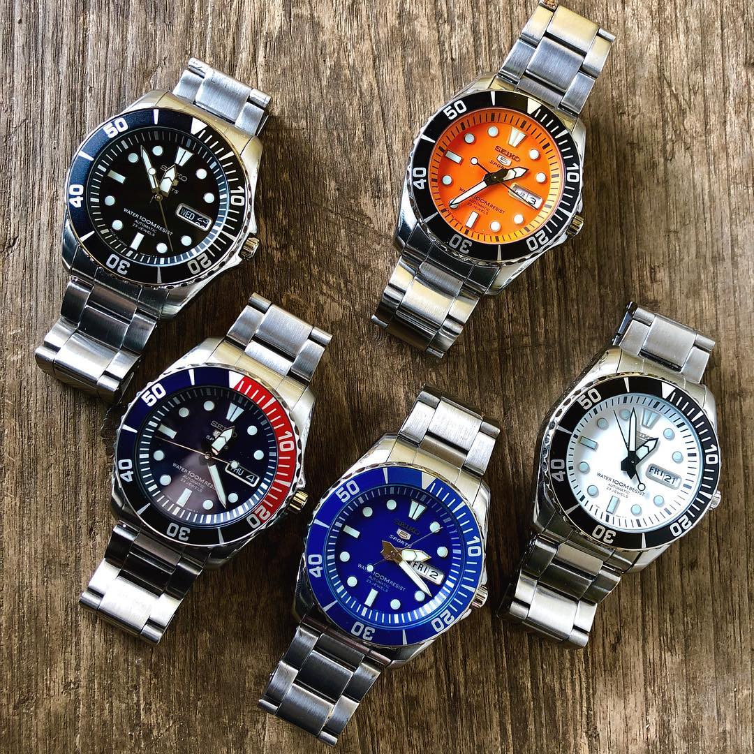 Seiko 5 SNZF15 Sea Urchin Seiko 5 SNZF15 Impressions and Alternatives