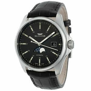 Glycine Combat 6 Classic Automatic Black Dial Mens review
